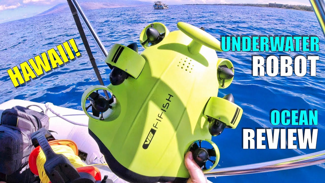 2019 Underwater Drone QYSEA FIFISH V6 4K ROV Review – Part 3 – [In-Depth OCEAN TEST, Pros & Cons]