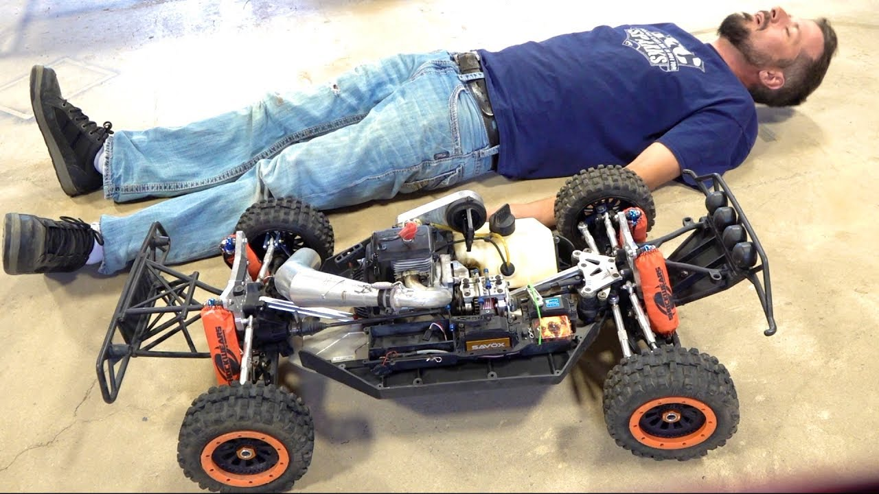 Project: LARGE 2.0.5 – After 2 Years I attempt to START my 32cc GAS Race Truck | RC ADVENTURES