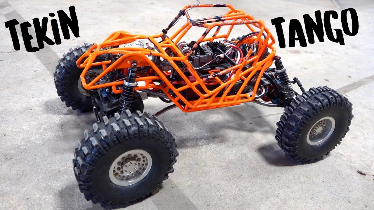 "4 Wheel Steer ""TANGO"" goes TWIN BRUSHLESS – TEKIN POWER! 