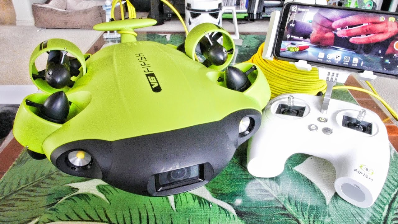 QYSEA FiFish V6 Underwater Drone ROV TREASURE HUNTER Review – Part 1 – Unboxing, Inspection & Setup