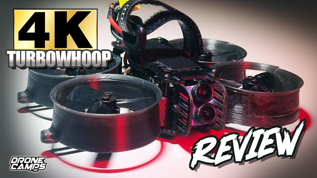 4K DRONE under 250 grams! – FULLSPEED TURBOWHOOP 4K – FULL REVIEW ?
