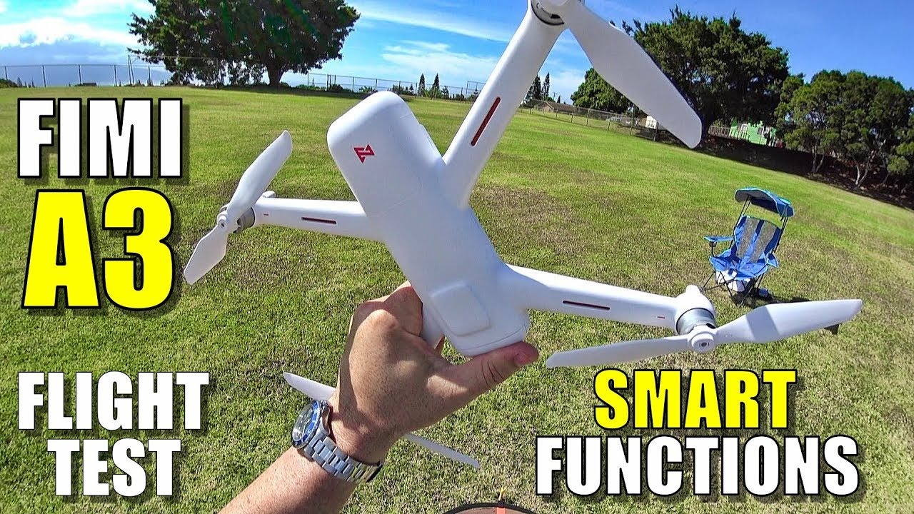 Xiaomi FIMI A3 Budget Drone Review – Part 3 – Smart Functions – [Follow Me, Orbit, Etc, Pros & Cons]