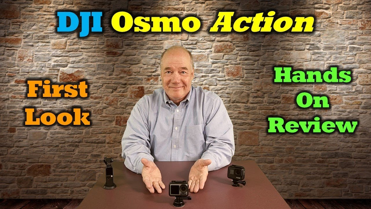 DJI Osmo Action – First Look and Hands-on Review