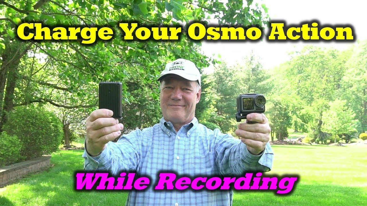 Osmo Action Tip #1 – Extend Your Recording Time With A Powerbank