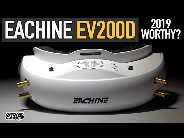 EACHINE EV200D still good in 2019? – Dual Diversity, USB Power, DVR – FULL REVIEW