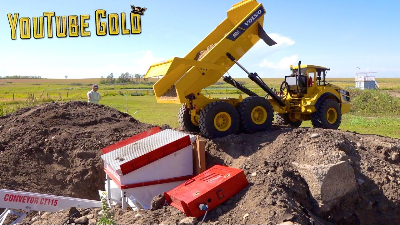 YouTube GOLD – MAXIMUM PAY DIRT : DUMP YOUR LOAD! (s2 e22) | RC ADVENTURES