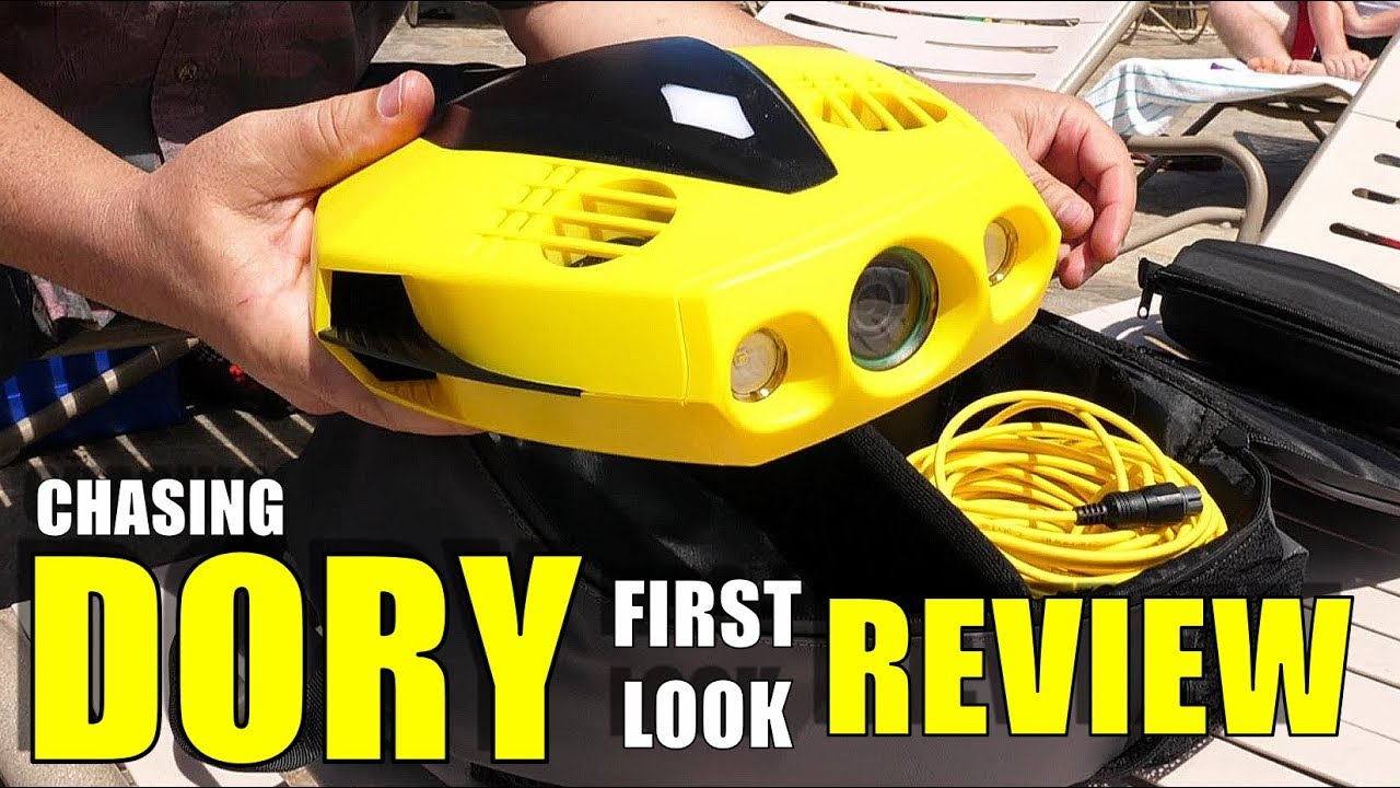 World's SMALLEST Underwater Drone ROV – CHASING DORY Review – Unbox, Pool/Ocean Test w/ Craig Glover