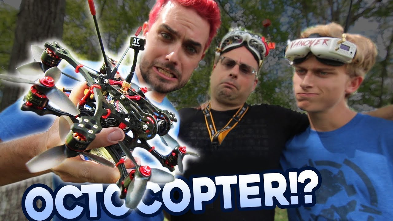 3 INCH OCTOCOPTER?!? | You Build It We Fly It!