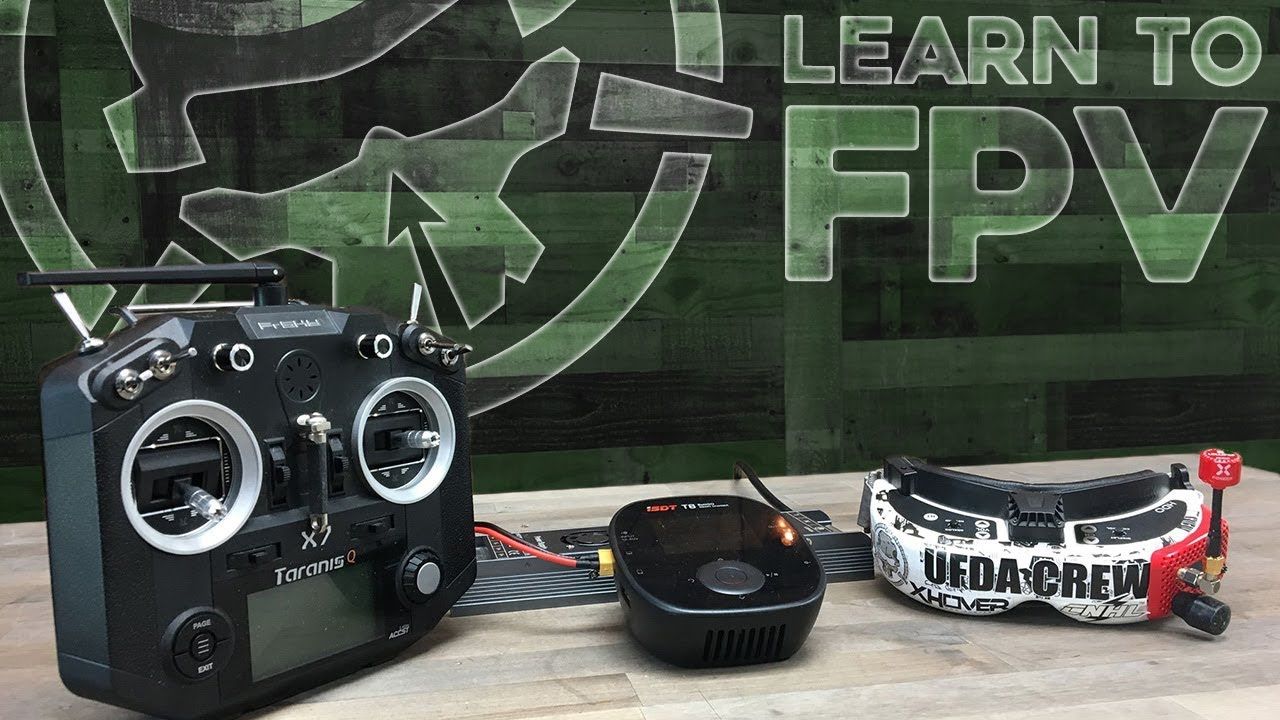 FPV Gear on the Ground [Radio, Goggles, Charger…]