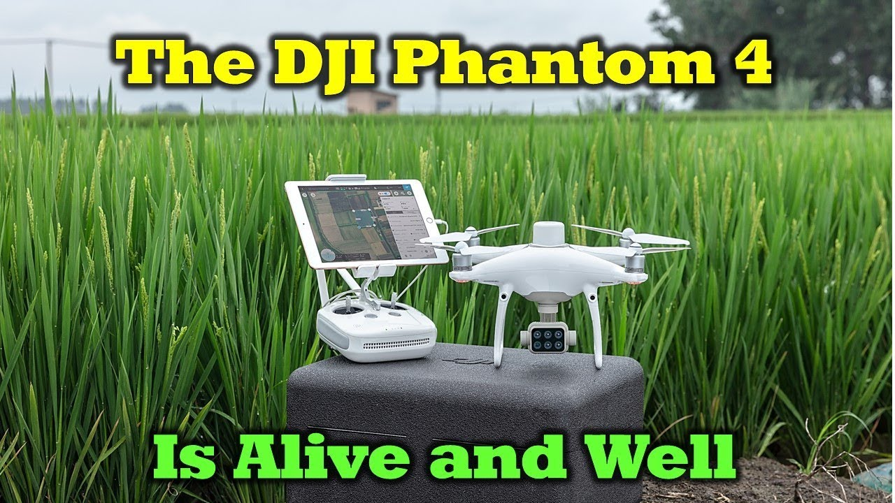 New DJI P4 Multispectral Drone – The Phantom Series Is Alive And Well