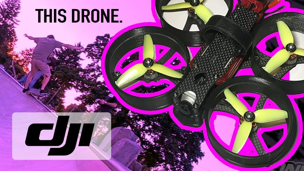 THIS DRONE CHANGED SKATEBOARDING FOREVER