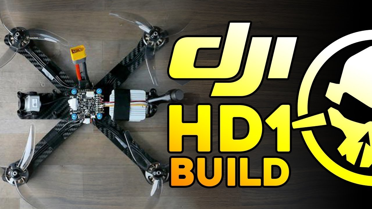 Rotor Riot Spec Kwad – HD1 Build with DJI FPV System