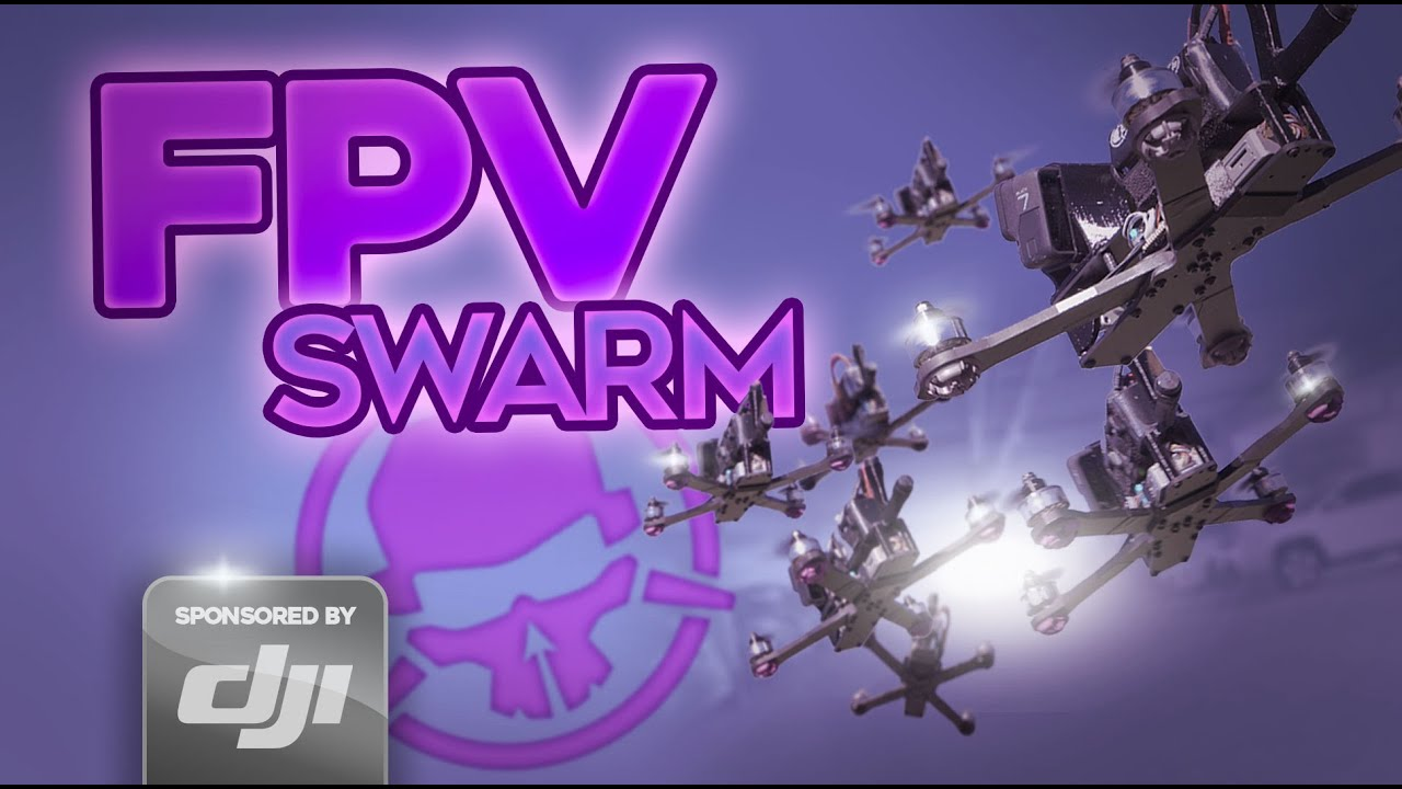 Flying 8 FPV Drones at the SAME TIME