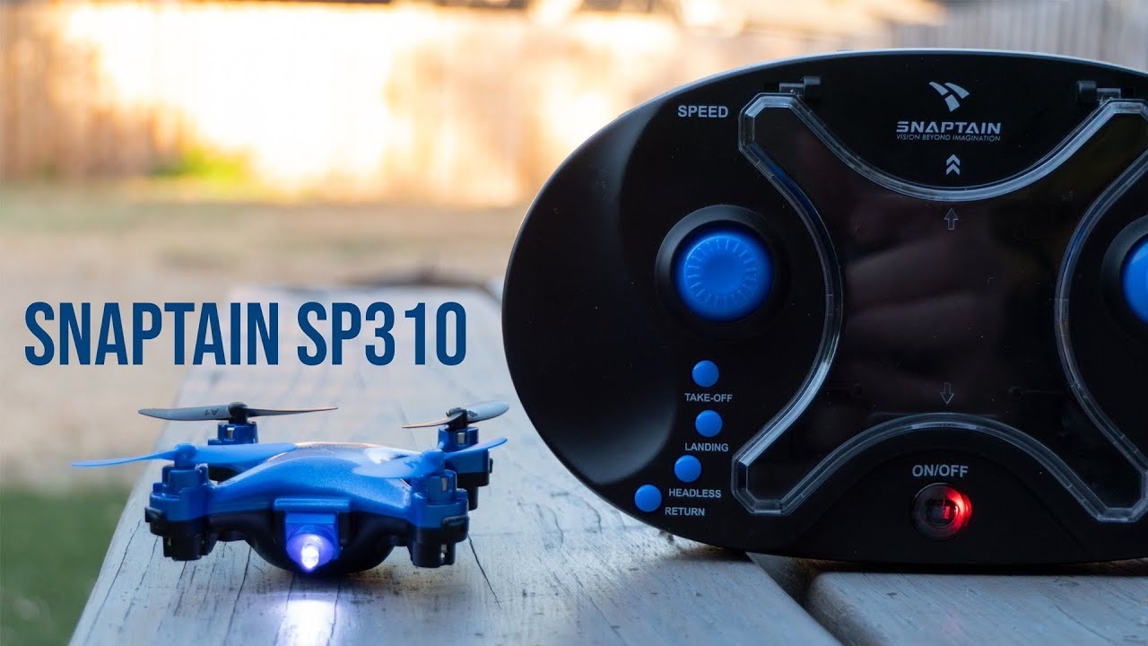 Snaptain SP310 Toy Drone Review