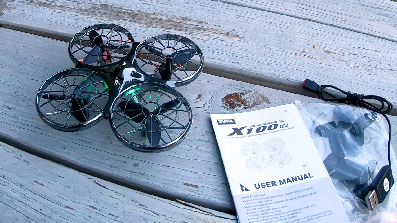 Drone Review – Syma X100 – Toy Drone With Obstacle Avoidance