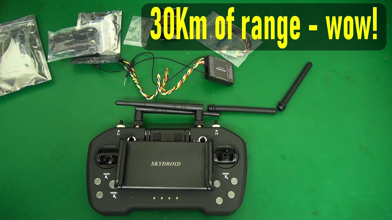 Skydroid T12 – 30Km FPV/RC system for drones and planes
