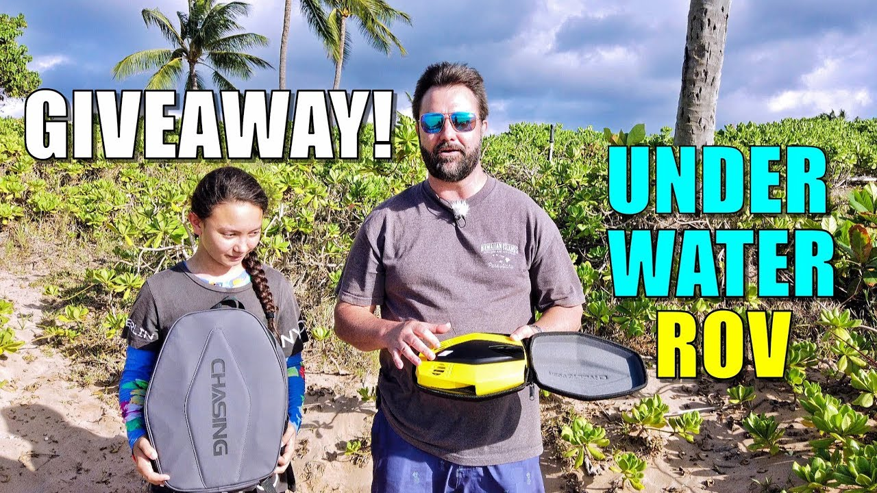 GIVING AWAY the WORLD'S SMALLEST Underwater ROV – Chasing's DORY underwater drone GIVEAWAY!