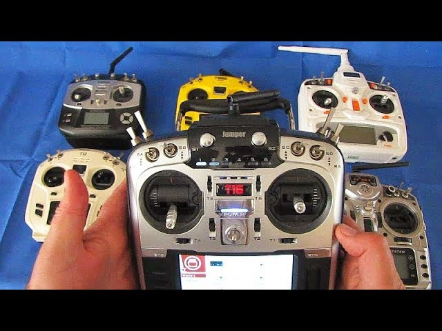Jumper T16 16 Channel Multi Protocol RC Transmitter Flight Test Review
