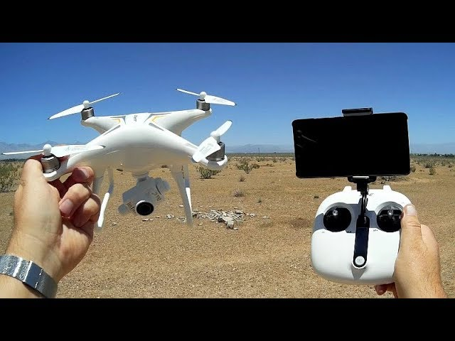 JJRC X6 Aircus Brushless Camera Drone with Two Axis Gimbal Flight Test Review