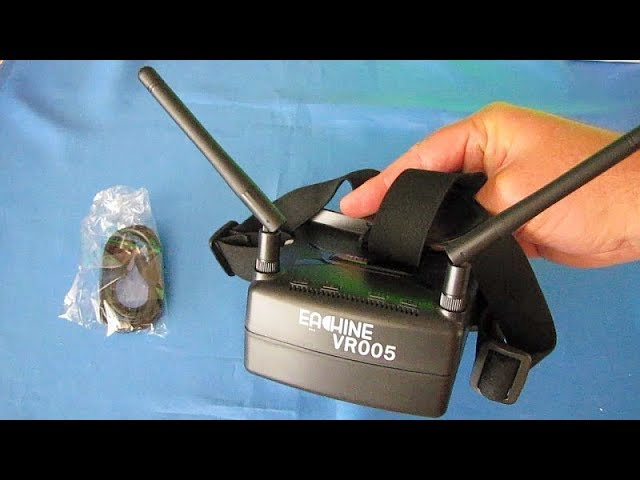 Eachine VR005 Cheap Beginners FPV Racing Goggles Review