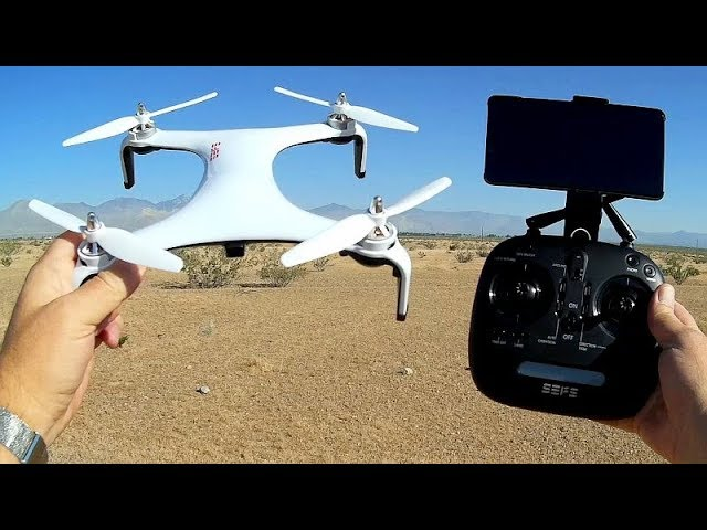 S500 Brushless 1080p FPV GPS Drone Flight Test Review