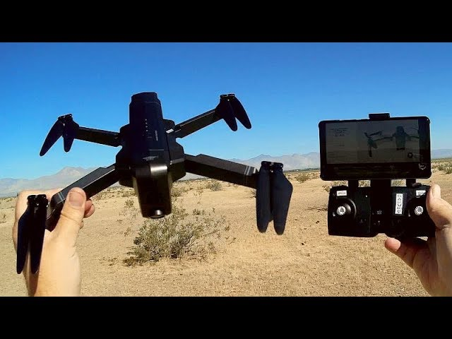 SJRC F11 Pro Folding Brushless-Long Flying-Very High Resolution Camera Drone Flight Test Review