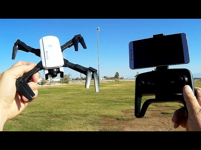 1808 Falcon Good Cheap Beginners FPV Camera Drone Flight Test Review