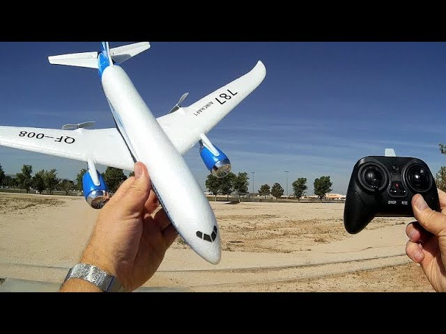 QF008 Boeing 787 3 Channel RC Flying Scale Model Flight Test Review