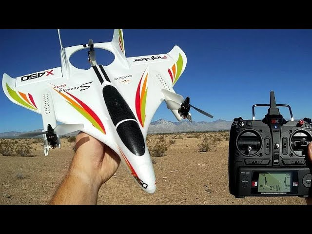 XK X450 Aviator VTOL RC Airplane Flight Test Review