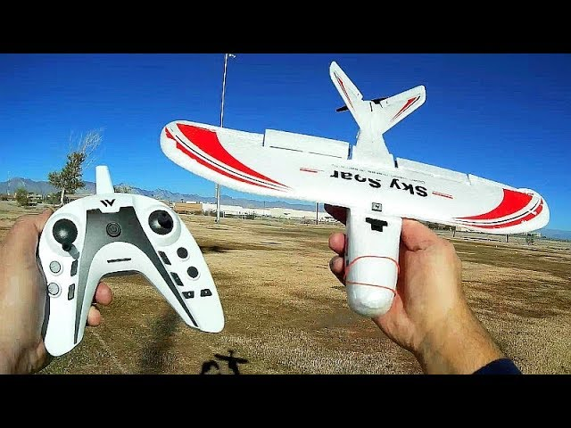 Attop P01 Sky Soar 3 Channel RC Airplane Flight Test Review