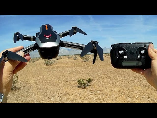 ZLRC Beast SG906 (CSJ-X7) Folding Long Flying Brushless GPS Drone Flight Test Review