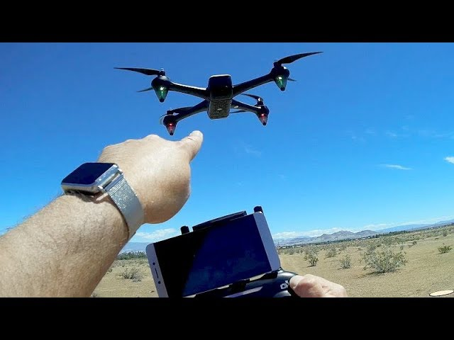 Potensic D60 GPS FPV Brushless 1080p Camera Drone Flight Test Review