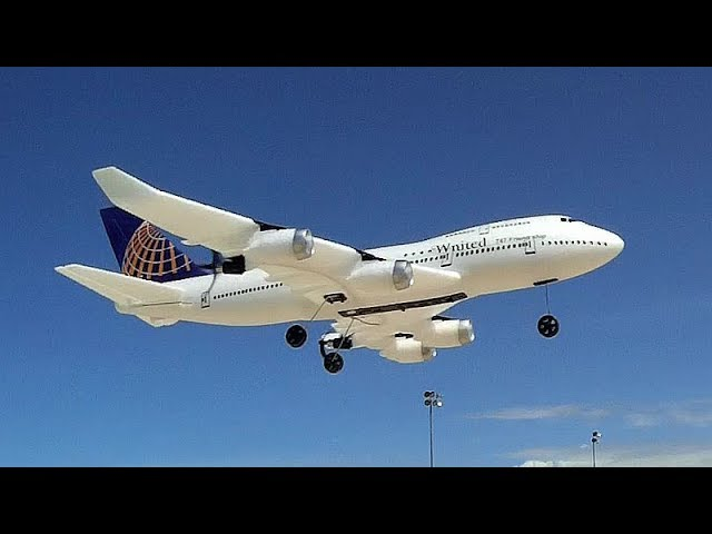 WLToys XK A150 Flying Boeing 747 Three Channel RC Model Flight Test Review