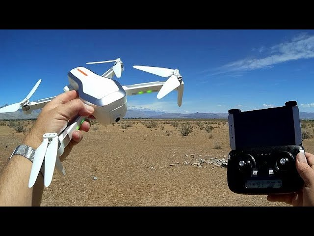 ZLRC Beast CSJ-X7 (SG906) Long Flying Brushless GPS Camera Drone Flight Test Review