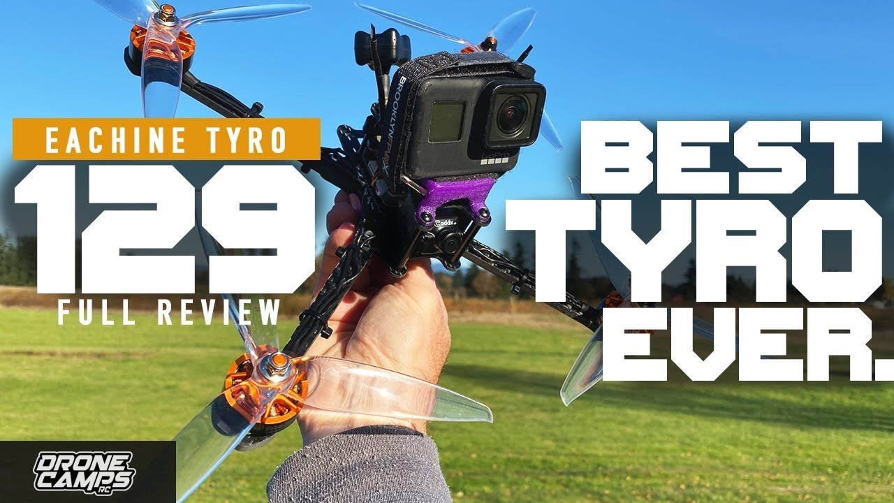 BEST TYRO EVER! – Eachine TYRO129 7″ Gps Quad – REVIEW & FLIGHTS