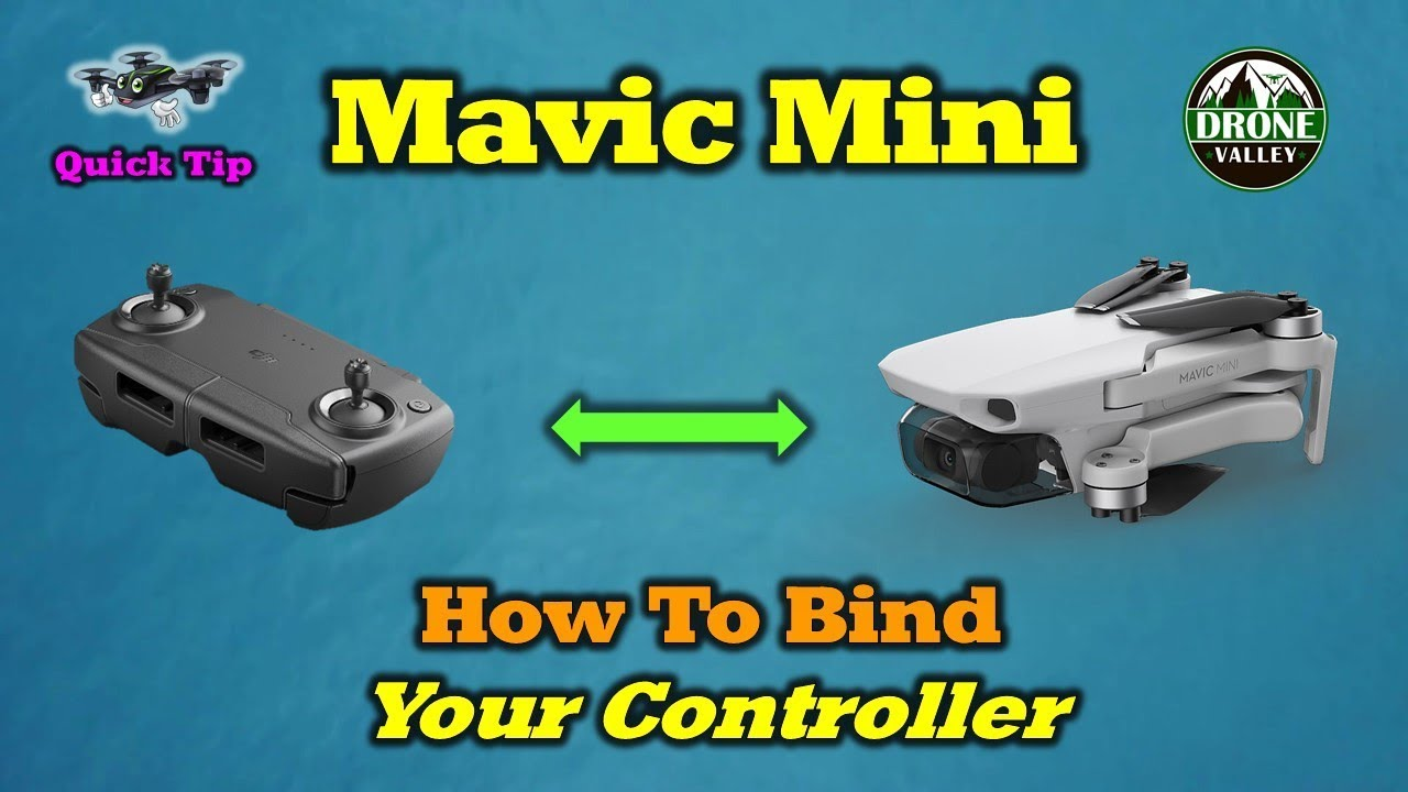 How To Pair Your Mavic Mini Drone and Controller