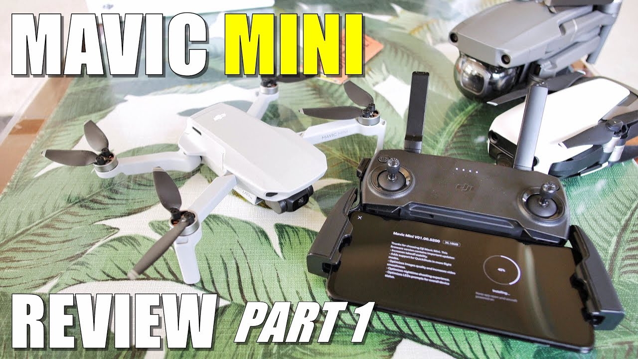 DJI Mavic MINI Review – Part 1 In-Depth [Unboxing, Updating, Setup, Pros & Cons]