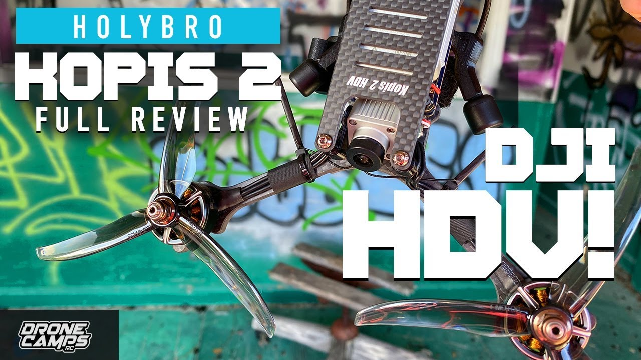 FIRST LOOK! – Holybro Kopis 2 HDV – Review & Flights