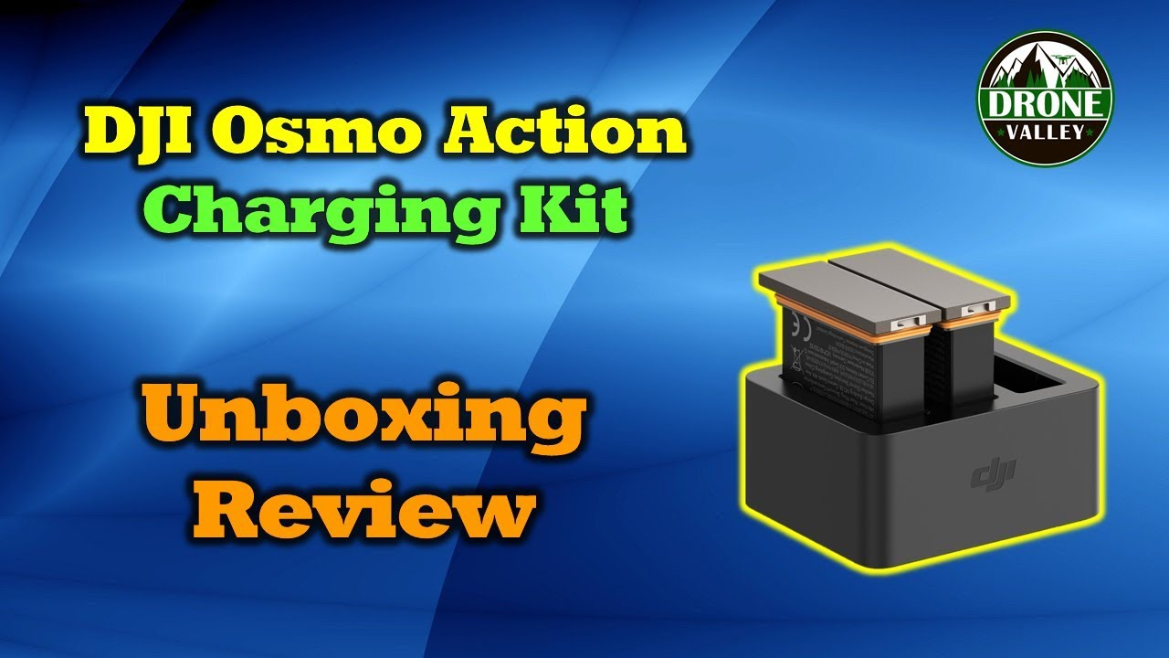 Osmo Action Charging Kit – Keep Your Camera Recording All Day