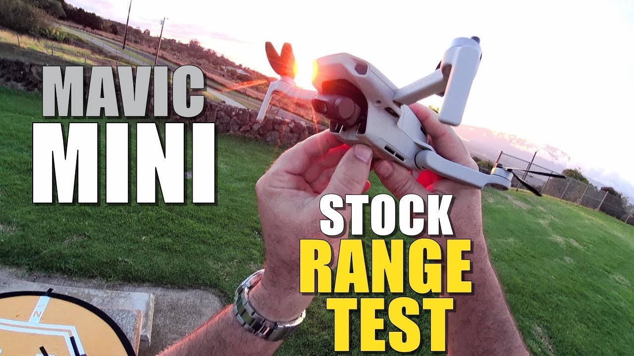 DJI Mavic MINI Range Test to 0% Power – How Far Will it Go? (Bonus CRASH TEST!)