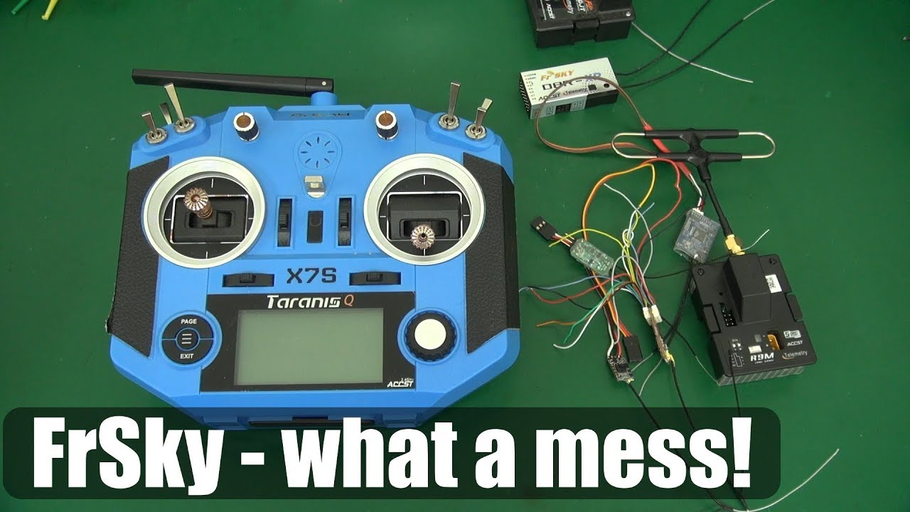 Rant: Why do I have so much useless FrSky RC gear?
