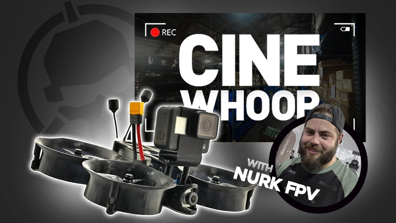 Indoor Cinematic FPV Drone?.. CineWhoop like a PRO!