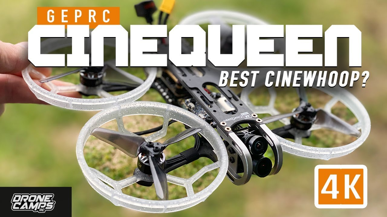 BEST CINEWHOOP? – Geprc Cinequeen 4K Drone – FULL REVIEW & FLIGHTS
