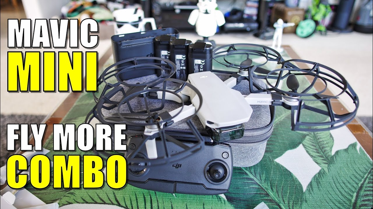 DJI Mavic Mini FLY MORE COMBO Unboxing, Inspection & Setup