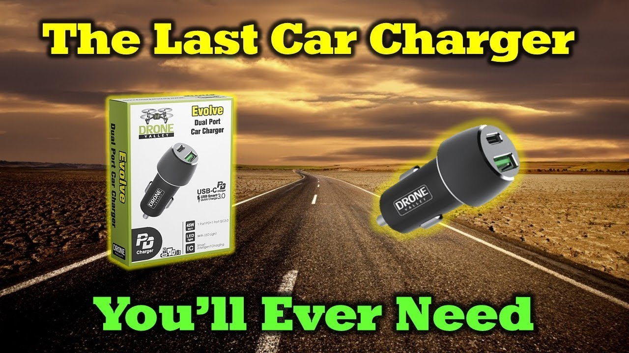 The Perfect 2-Port 45W Car Charger For All of Your Devices