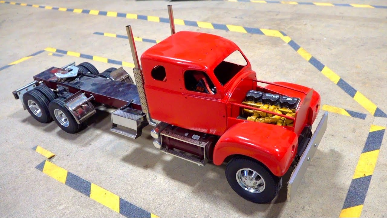 STARTING an OLD 1960's MACK TRUCK after YEARS of SITTING on the SHELF   RC ADVENTURES