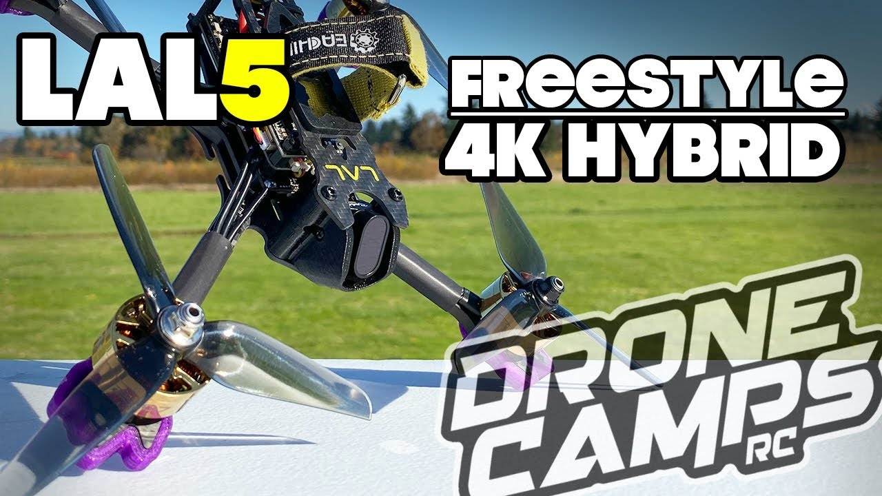 BEAST HYBRID – EACHINE LAL5 4K Freestyle Drone – REVIEW