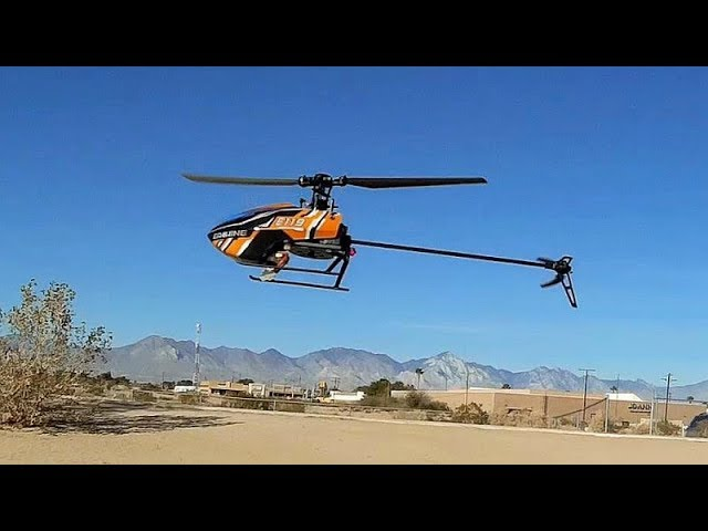 Eachine E119 Long Flying Flybarless Stabilized Helicopter Flight Test Review