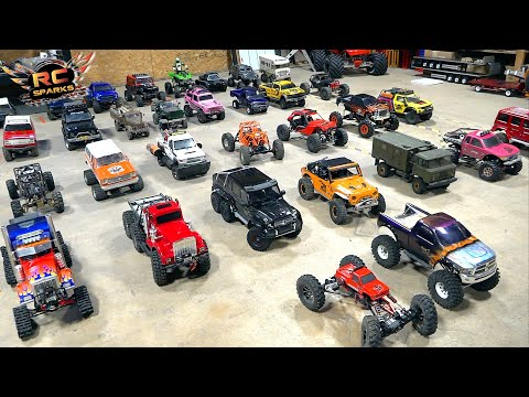 RC ADVENTURES – MEGA COLLECTION VIDEO #1 – 2019 TRAIL TRUCKS (DECEMBER)