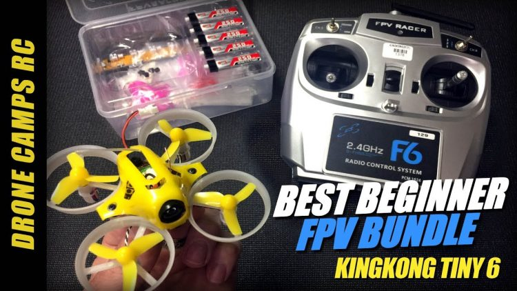 KINGKONG TINY 6 – BEST BEGINNER FPV BUNDLE